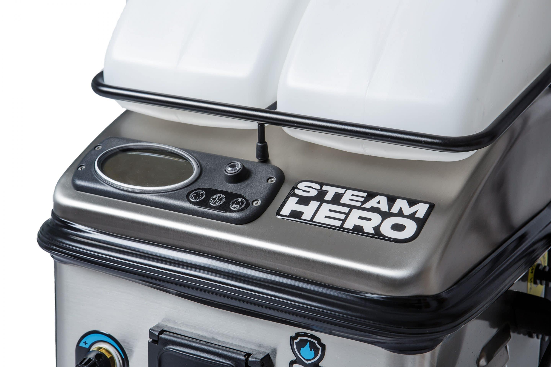 Der Steam Hero ist das neue Einstiegsmodell der beam GmbH in die professionelle Dampfsaugwelt. Foto: beam